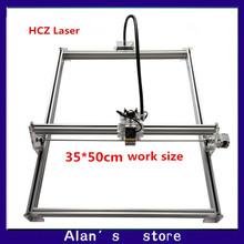 Laser 35 * 50cm large area 2800 mw laser engraving machine DIY mini engraving machine 2.8 w laser module laser cutter machine
