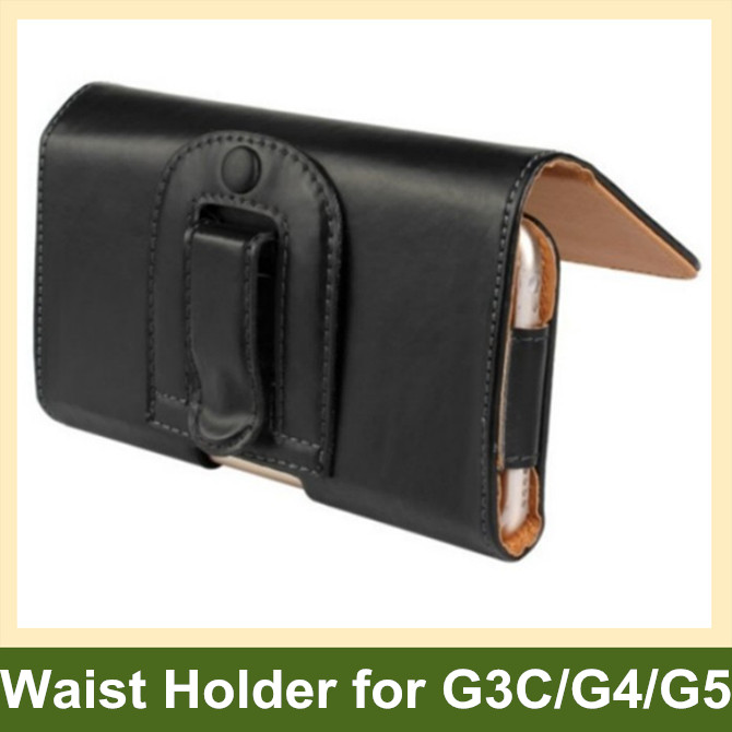 PU Leather Waist Holder Flip Cover Pouch Case for Jiayu G3C G4 G4C G4S G5 100pcs/lot Free Shipping