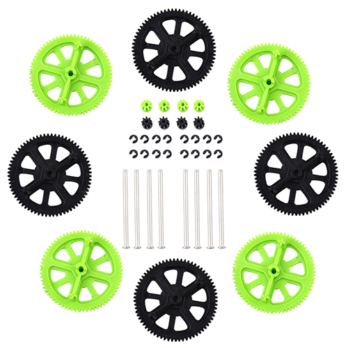 Upgrade Motor Pinion Gear Gears and Shafts Replacement Black Quadcopter for Parrot AR Drone 1.0 2.0<br><br>Aliexpress