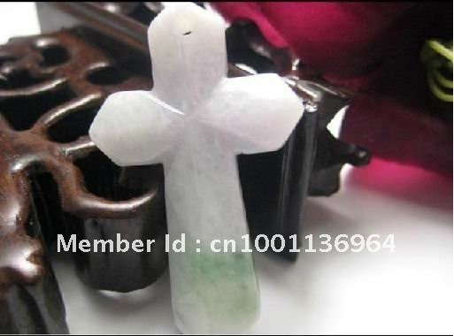 Jade Cross Pendant,Stylish Cross necklaces