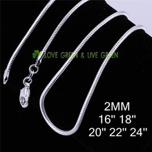 0 33 factory snake chain men women 16 18 20 22 24 inches 925 sterling