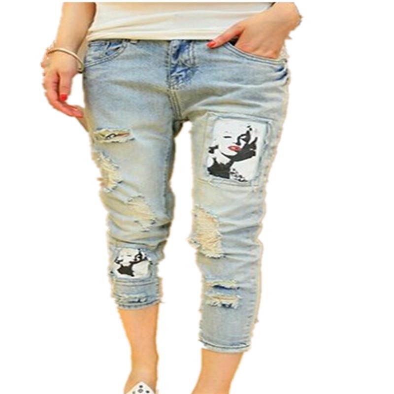 Женские джинсы , Capris