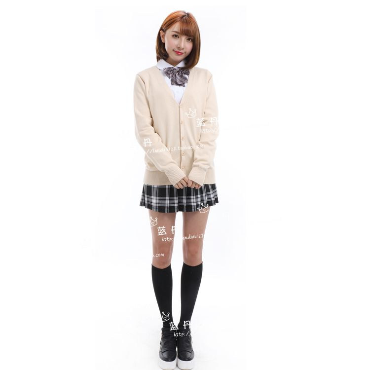 Autumn and winter the Japanese popular JK uniform students sweater cardigan coat collar shirt sleeved uniforms suitОдежда и ак�е��уары<br><br><br>Aliexpress