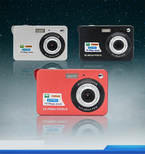 18 million pixel home digital camera children's macro camera gift 2.7 inch display card camera(China (Mainland))