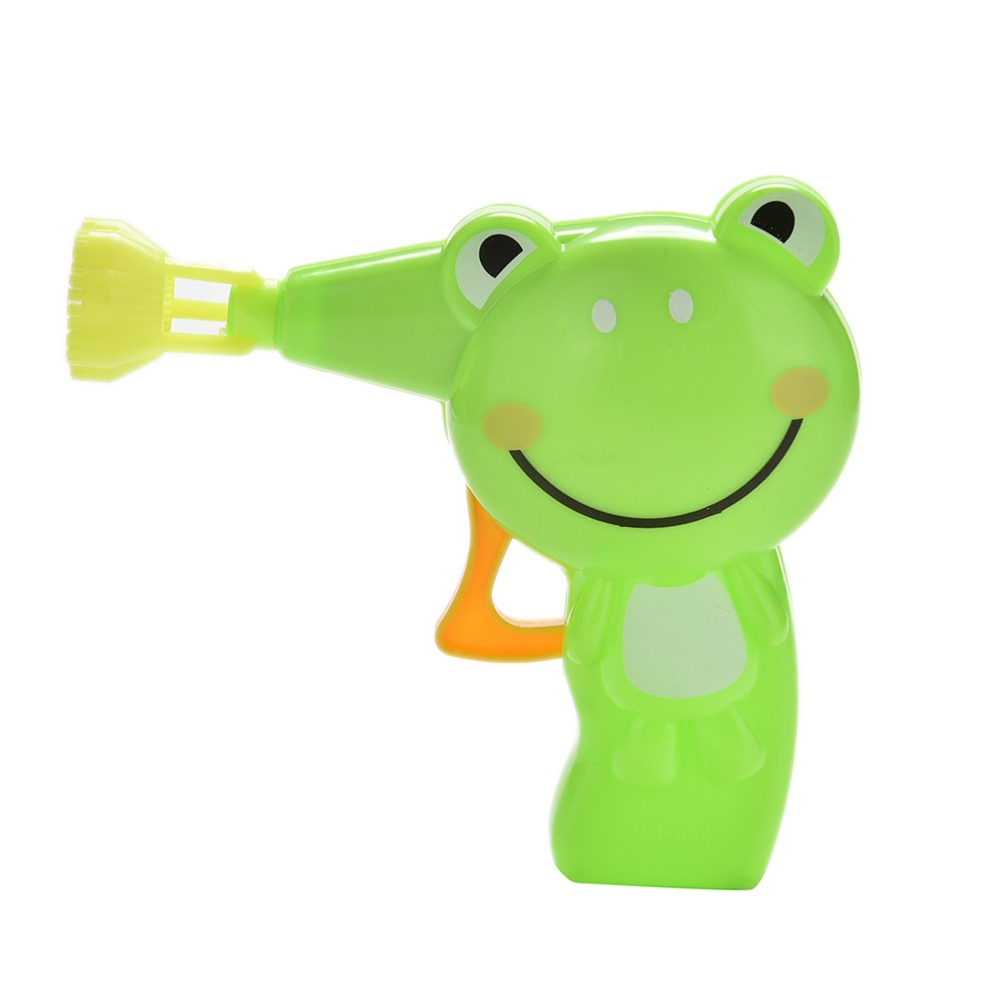 1PCS Kid Outdoor Toy Cartoon Animal Model Colorful Soap Water Bubbles High Quality Automatic Soap Animal Bubble Gun
