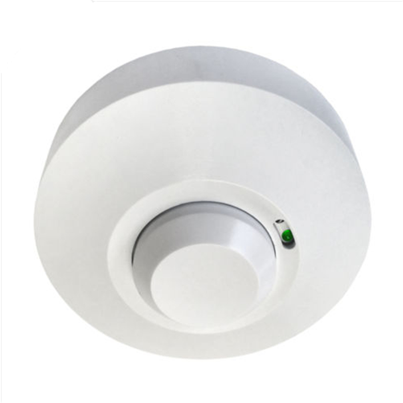 High Sensitive 1200W 360 Degree Automatic Microwave Radar Sensor Light Switch PIR Ceiling Body Motion Detector Indoor(China (Mainland))