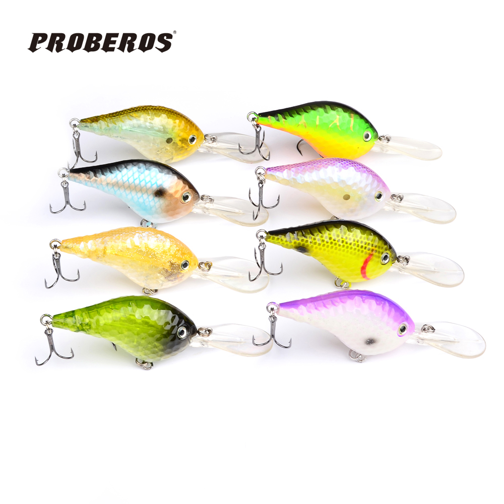 8pc Design Golf Ball Dimple Fishaing Lures Exported to USA Market Crank lures 11.5cm/23g fishing tackle Retail box DW-B20(Hong Kong)