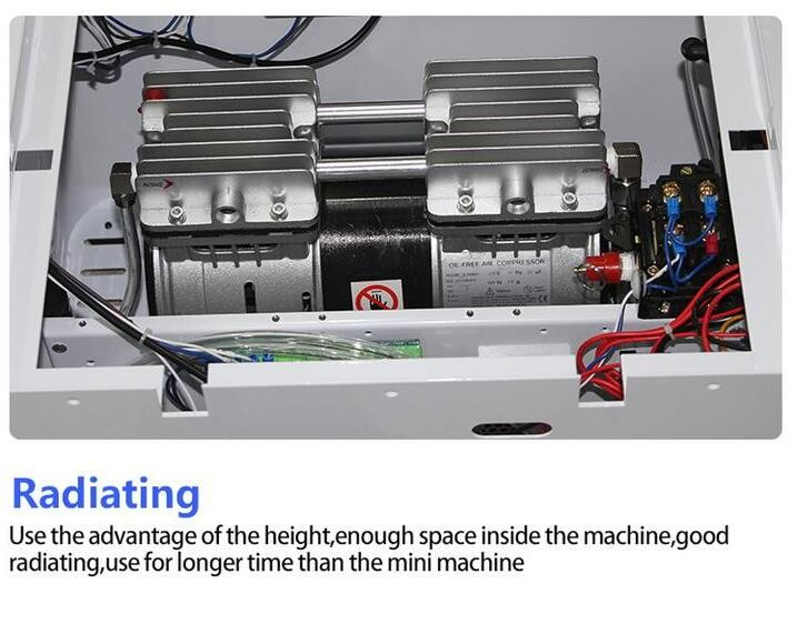 Купить Новейшие обновления автоматическая блокировка 2 in1 Автоматический Вакуумный Ламинатор Пузырь для Удаления Машина Встроенный Насос и Воздушный Компрессор