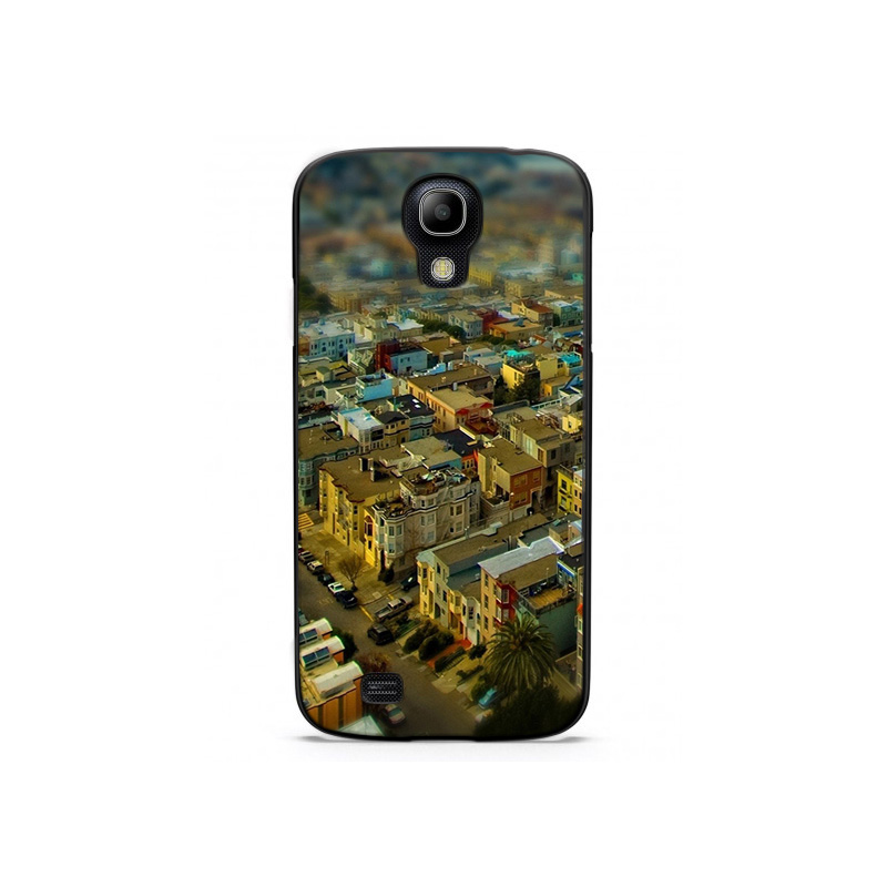 California San Francisco Tilt Shift Cityscape Plastic Protective Shell Skin Bag Case For GalaxyS4 S5 S6 Cases Hard Back Cover(China (Mainland))