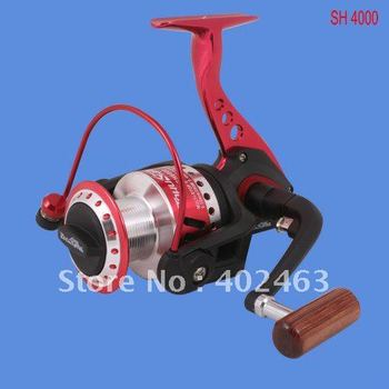 Spinning fishing reel Tokushima SH 4000  machined spool  The metal processing the  footstand  9+1 precision Ball Bearing 5.0:1