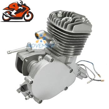 80cc 2 Stroke Engine Single Cylinder For Motorized Bicycle Bike V-Frame Mountain Bike Road Bike Cruiser Chopper Gasoline Engine