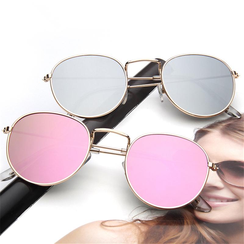 designer mirrored sunglasses 0x3m  2017 retro round sunglasses women men brand designer sun Glasses for  women's Alloy mirror sunglasses lentes