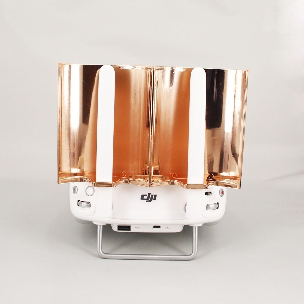 ZJM DJI Phantom 3 / 4 Inspire 1 Parabolic Antenna Signal Booster Remote Control Enhanced Board Extended Range Copper Plating