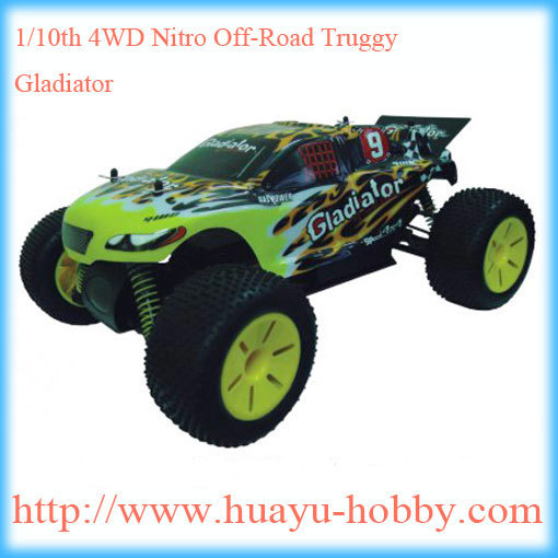 hsp rc cars Savage Second 1/10th Scale Nitro Off-Road Truggy,18cxp nitro engine car 94110