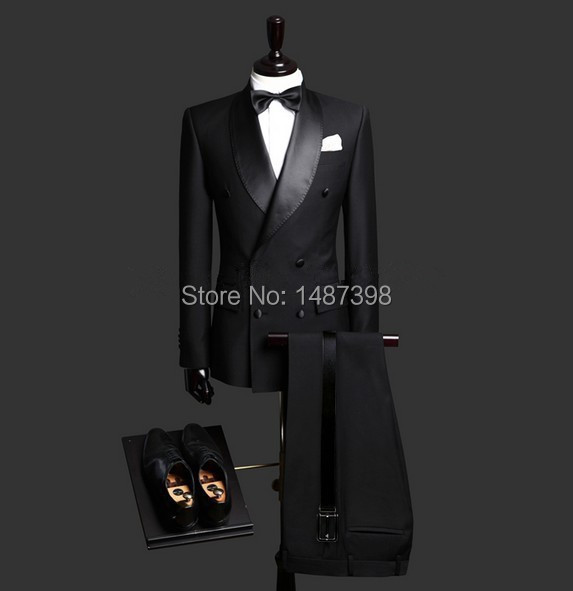Custom-Made-Slim-Fit-Black-3-Piece-Mens-Blazer-Double-Breasted-Suit-Men-Wedding-Suits-Groom