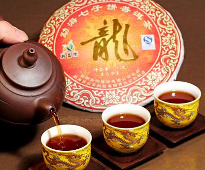 Pu 'er ripe tea pu-erh super 3 cake Seven cakes Puer Chinese kunfu - Life taste store