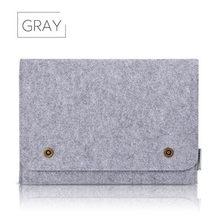 11 13 14 15,4 15,6 17,3 шерсть фетровый карман для ноутбука Портативная сумка для Macbook/hp/acer/Asus/lenovo мягкая защита от пыли Чехол для ноутбука(China)