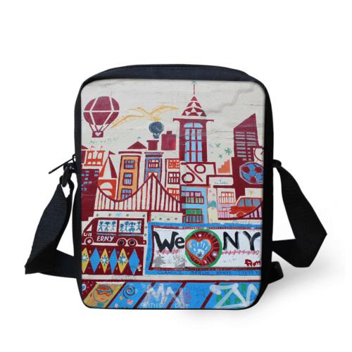 Fashion Women Messenger Bags New York Print Shoulder Bag Crossbody Bags Casual Famous Brand Ladies Handbags Cross Body Bags(China (Mainland))