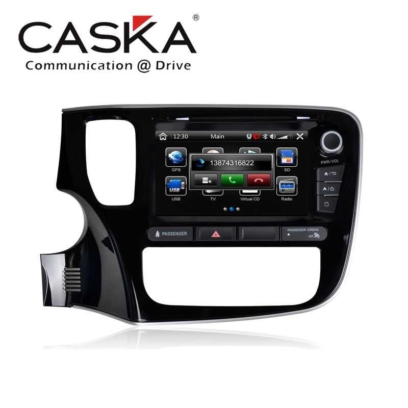 "2015 8""inch HD digital Caska DVD Player Bluetooth/IPod music/Radio/DVD/USB/Card/WiFi For MITSUBISHI OUTLANDER 2013 Update online(China (Mainland))"