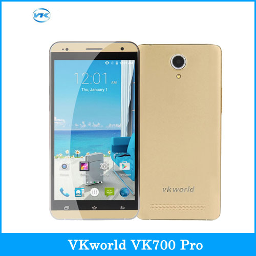 Original VKworld VK700 Pro 5.5'' Android 4.4 Smartphone MTK6582 Quad Core 1.3GHz ROM 8GB RAM 1GB GPS A-GPS Mobile AP GSM & WCDMA