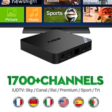 Buy T95N Android 6.0 IPTV TV Set Top Box Italy UK European Arabic Spain Portugal Turkish Netherlands IUDTV Subscription Media Player for $73.54 in AliExpress store