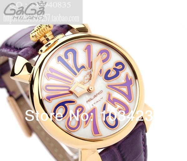 Hot-selling gaga watch fashion big dial quartz unisex milano men women watches - Happy Sunlight Store store