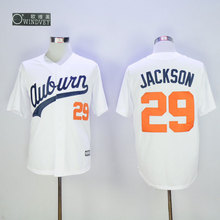 Men's 29 Bo Jackson Throwback Baseball Jerseys,Auburn University Jersey(China (Mainland))