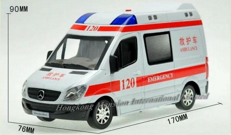 132 Police Ambulance Car Model For Benz Sprinter (20)