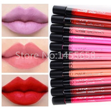 2015 Women Ladies Arrival Waterproof Elegant Color Lipstick Matte Smooth Lip Stick Lipgloss Long Lasting Sweet Girl Lip Makeup