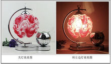 Metal and PVC Aromatherapy lamp hollow out moon and stars meet Bedroom bed Fragrance lamp Wedding European style stary x 8pcs (China (Mainland))