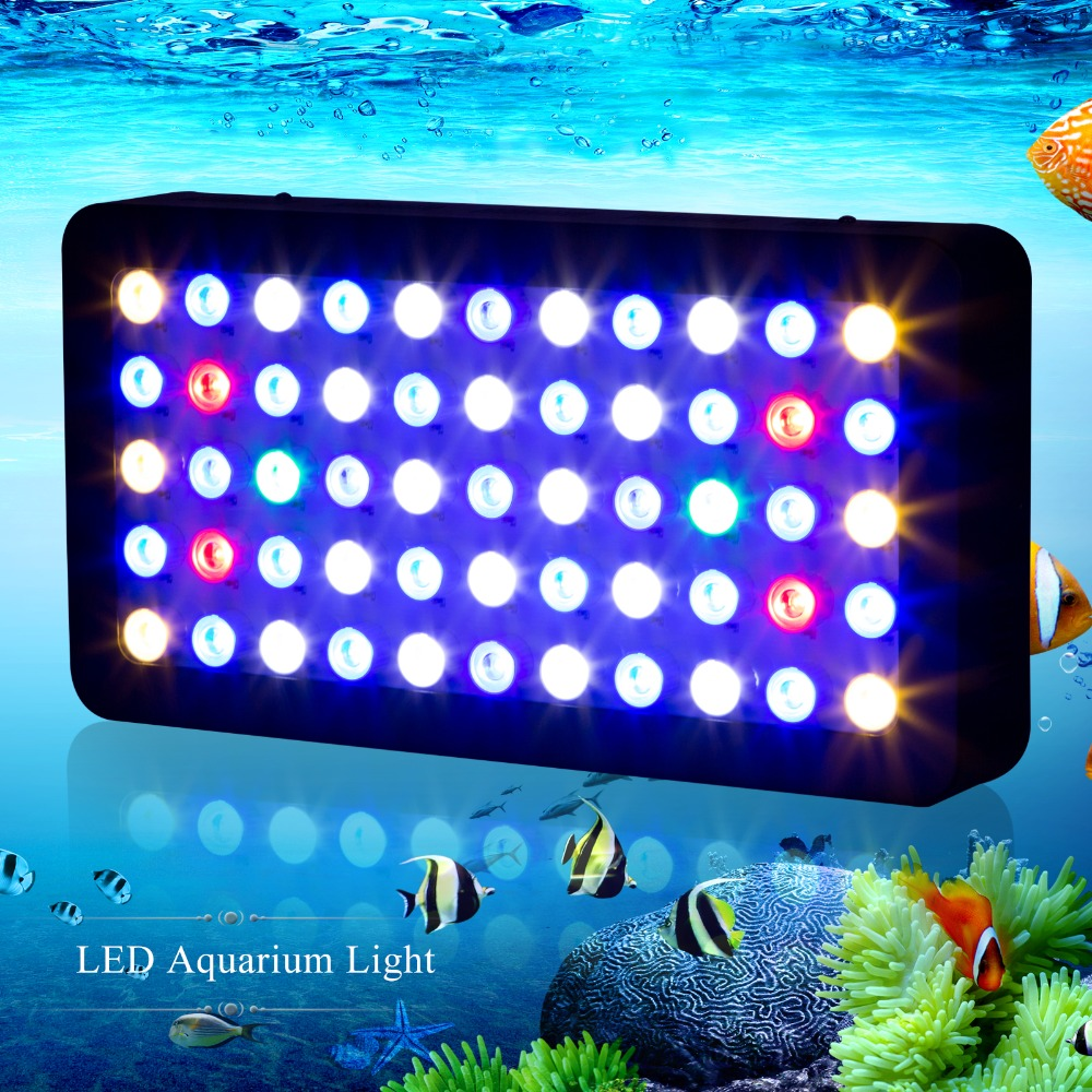 best full spectrum dimmable 165w led aquarium light. Black Bedroom Furniture Sets. Home Design Ideas