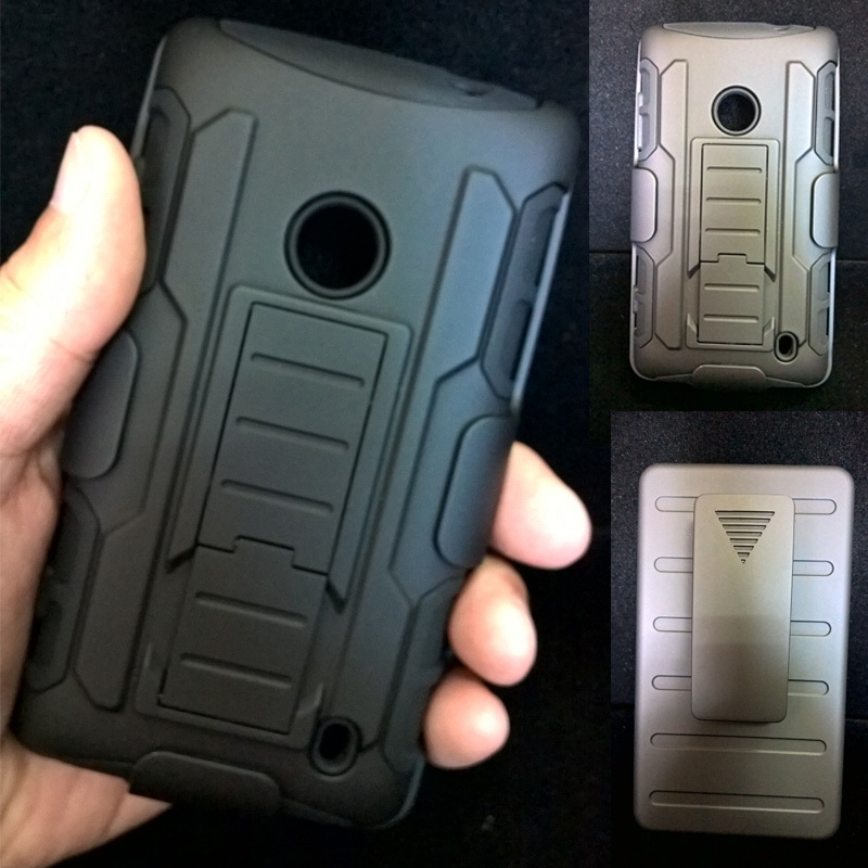 For Nokia Lumia 520 610 720 830 929 930 Future Armor Impact Holster Hybrid Hard Case Cover celular Fundas Capa Para(China (Mainland))