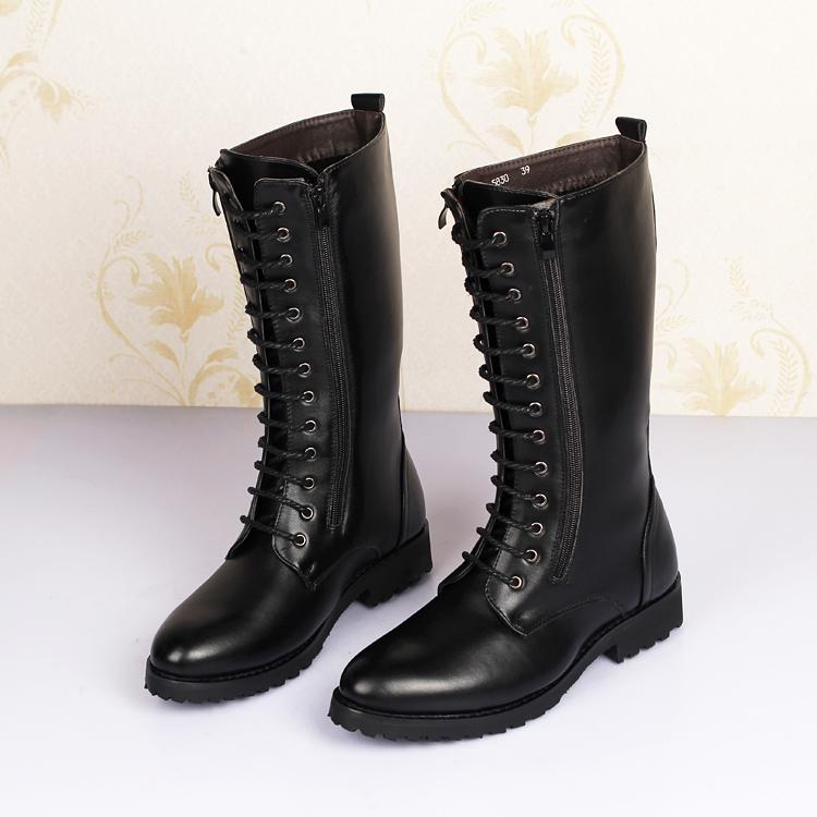 popular mens knee high boots buy cheap mens knee high