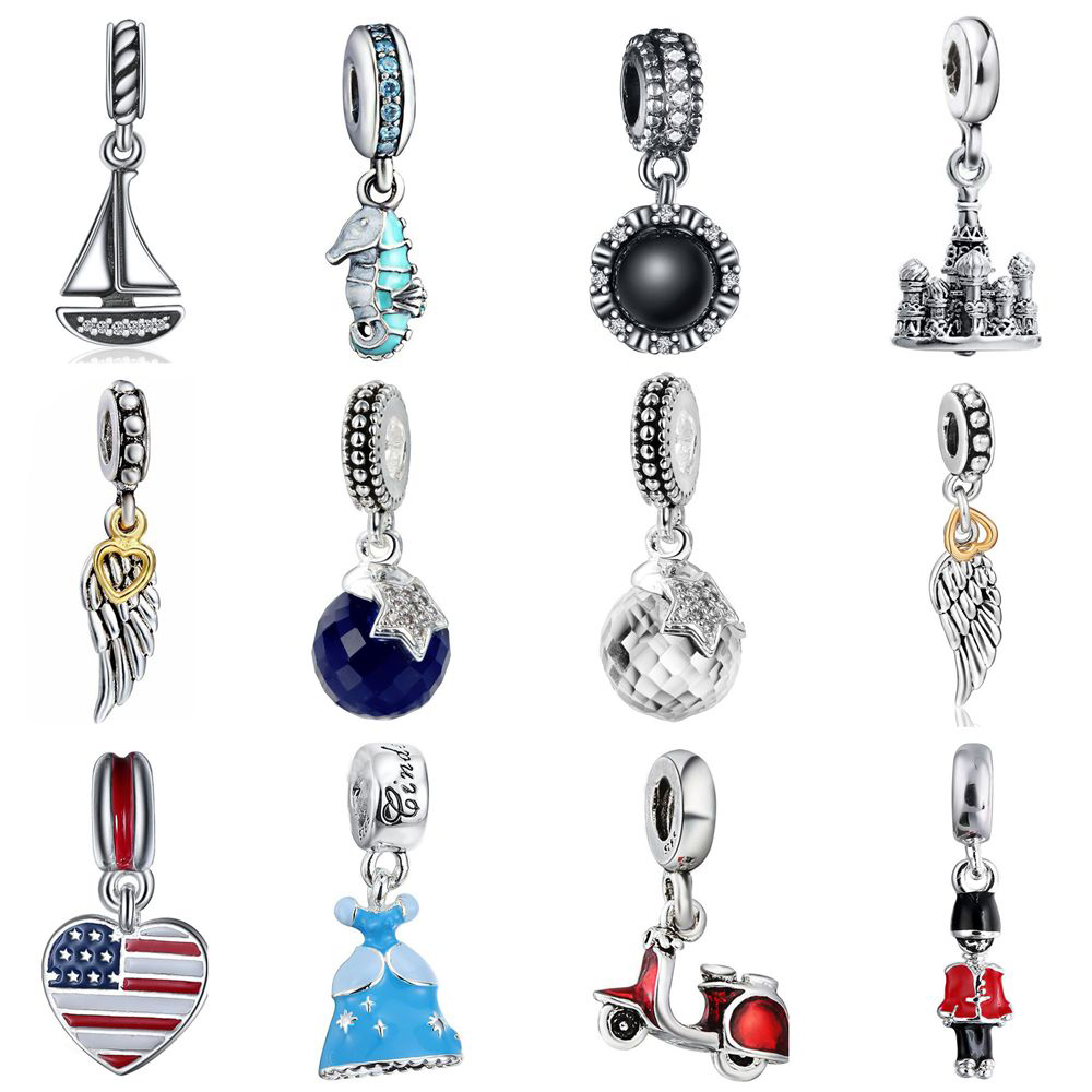 Buy wybeads unique silver travel for Unique stones for jewelry making
