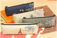 Min. order is $15 (mix order)  Hot Sale Stationery  Fashion camera pencil case  Pencil Bags