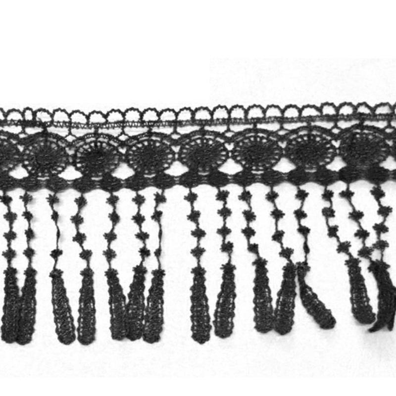 Lace Beautiful 3 Yards Flower Venise Lace Fringe Applique Costume Sewing Trims Craft Hot(China (Mainland))