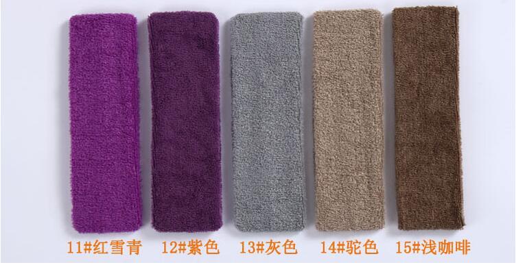 Candy colors Toweling Movement Yoga Headband Yoga fine velvet headband hair band width(China (Mainland))