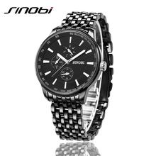 Buy New Sinobi Dress Quartz Business Sports Watches Men Military Full Steel Casual WristWatch Waterproof Relojes hombre for $8.80 in AliExpress store
