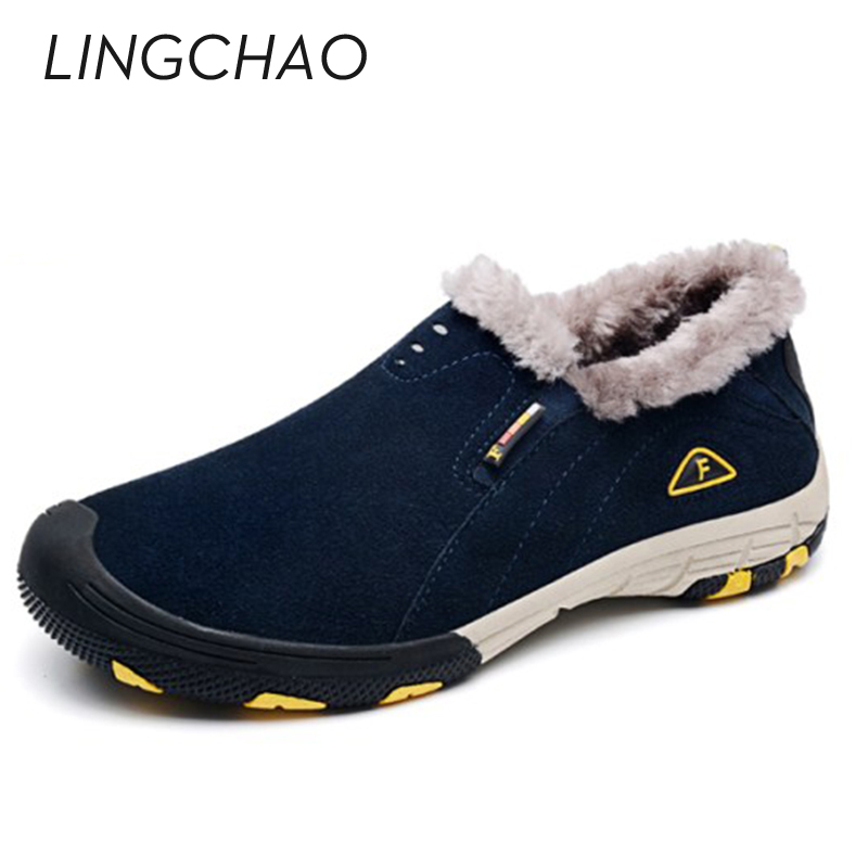 2016 New Men Sneakers Casual Style Slip On Walking Shoes For Man Winter Warm Outdoor Shoes Zapatillas Hombre Size:39-45,1533