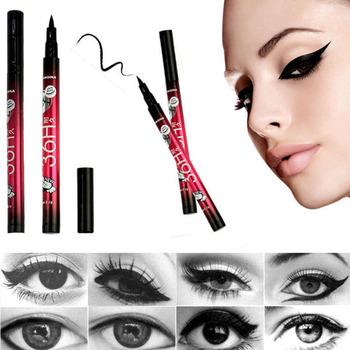 New 1 PC Waterproof Black Eyeliner Liquid Make Up Beauty Comestics Eye Liner Pencil High Quality