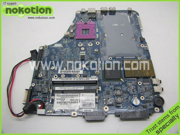 LAPTOP MOTHERBOARD FOR TOSHIBA A200 A205 ISKAA L2S LA-3481P K000057110 INTEL DDR2 INTEGRATE(China (Mainland))