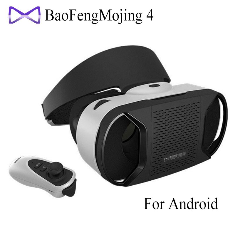 """[Genuine] Baofeng Mojing 4 IV Virtual Reality 3D VR Glasses Helmet for 4.7~6"""" Android Smartphone Android Virtual Video Glasses(China (Mainland))"""