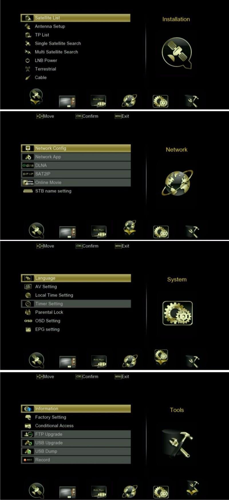 v8 golden menu-1