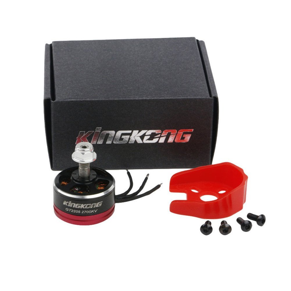 GT2205 2700KV 2-4S CW/CCW Brushless with Motor Protector FPV RC Racing Drone F19997/98