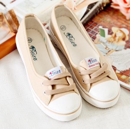 2015 shallow mouth spring belle older summer canvas shoes female pedal lazy cotton-made flat - Online Store 331468 store