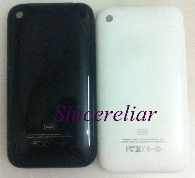 Back Housing Cover Case For iphone 3G 8GB/16GB 3GS 8GB16GB/32GB White/Black(China (Mainland))