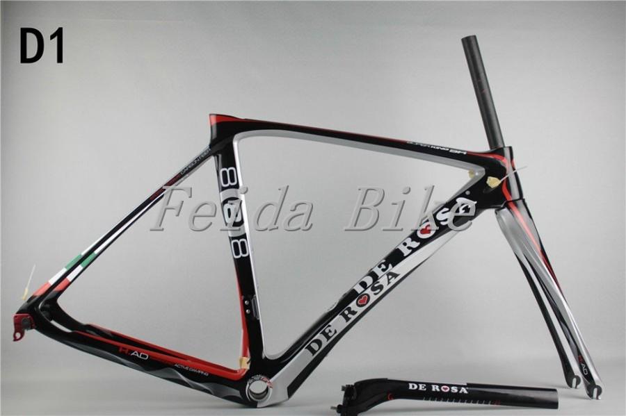 Factory direct sale, carbon road frame ,carbon road bike frame,Italy bicycle frames,De rosa bike D1(China (Mainland))