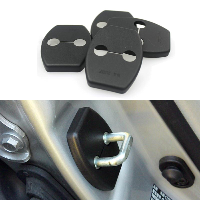 Гаджет  4Pcs/Lot Newest Car Styling Door Lock Protective Decoration Cover For Suzuki Kizashi Grand Vitara Accessories None Автомобили и Мотоциклы