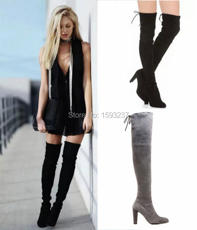 sepatulucu: Black Long Boots For Women Images