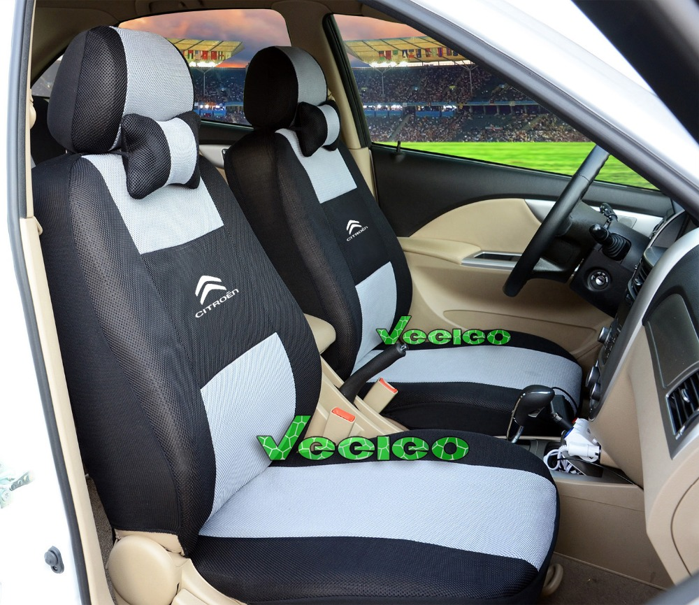 Free Shipping+Generic car version Seat Cover For Citroen Elysee Picasso C3 C4 C5 New Seat Cover With Sandwich Meterial+Logo<br><br>Aliexpress
